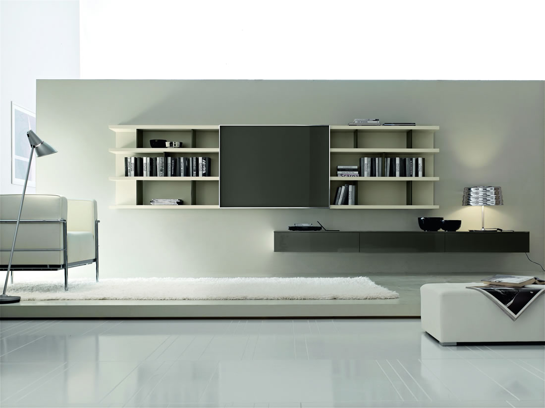 Wall Units Design top design modern tvstand wall unit by herval usa wallunits Click To Enlarge Image